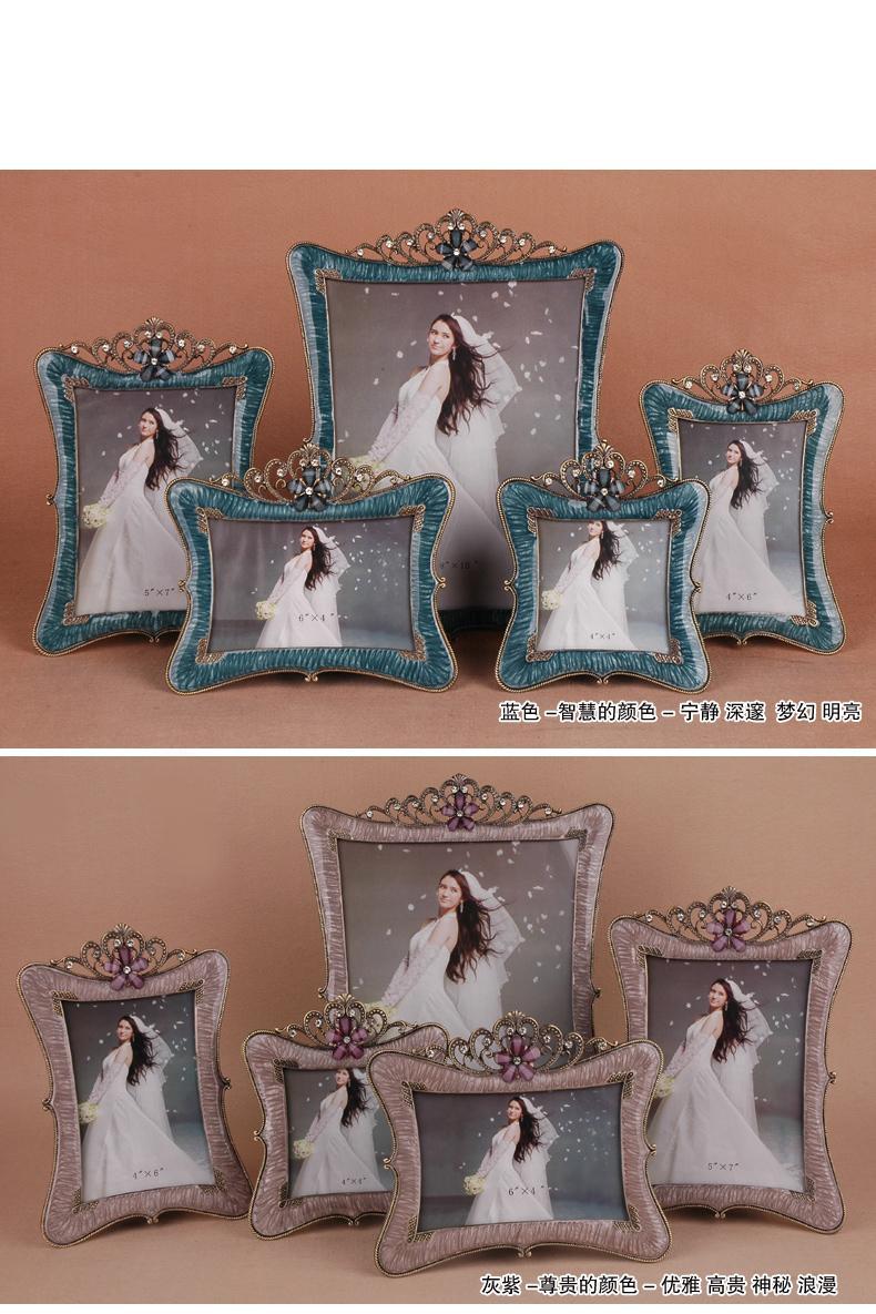 European style photo studio wedding frame Korean metal