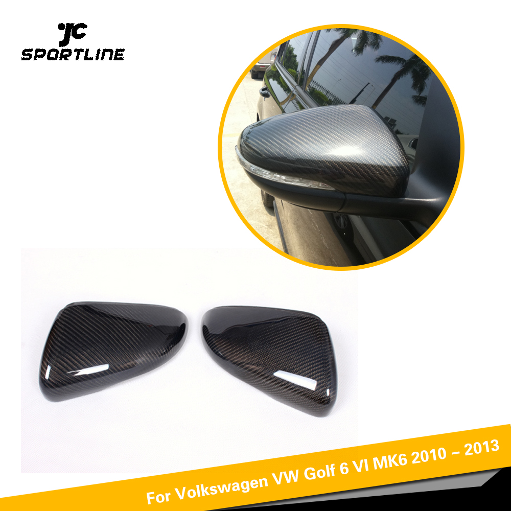Carbon Fiber Full Replacement Style Car Side Review Mirror