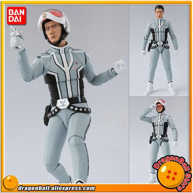 Japan Anime Ultra Seven Original BANDAI Tamashii Nations S.H. Figuarts / SHF Action Figure - Dan Moroboshi japan anime lupin the 3rd original bandai tamashii nations shf s h figuarts toy action figure fujiko mine