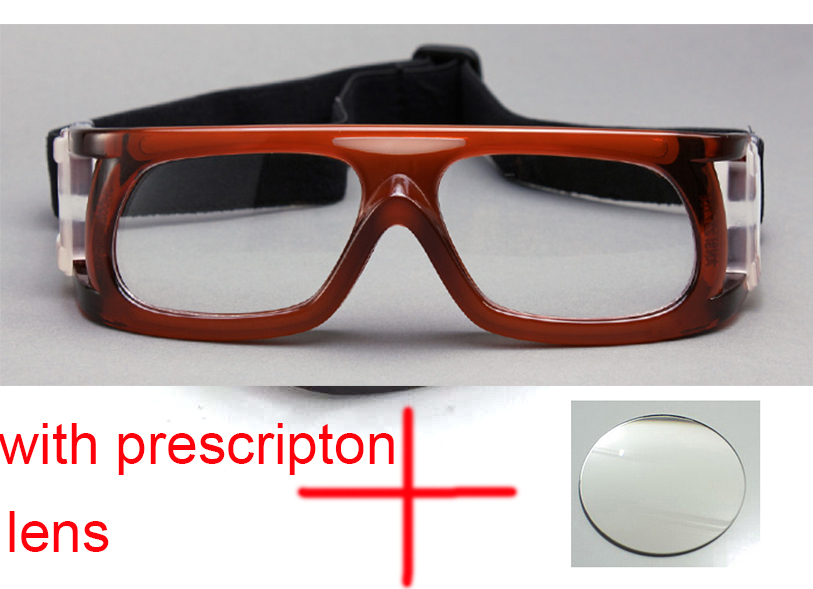 Unisex Speical for high degree  Prscription Basketball Glasses for Sports  For Myopia with diopter lens