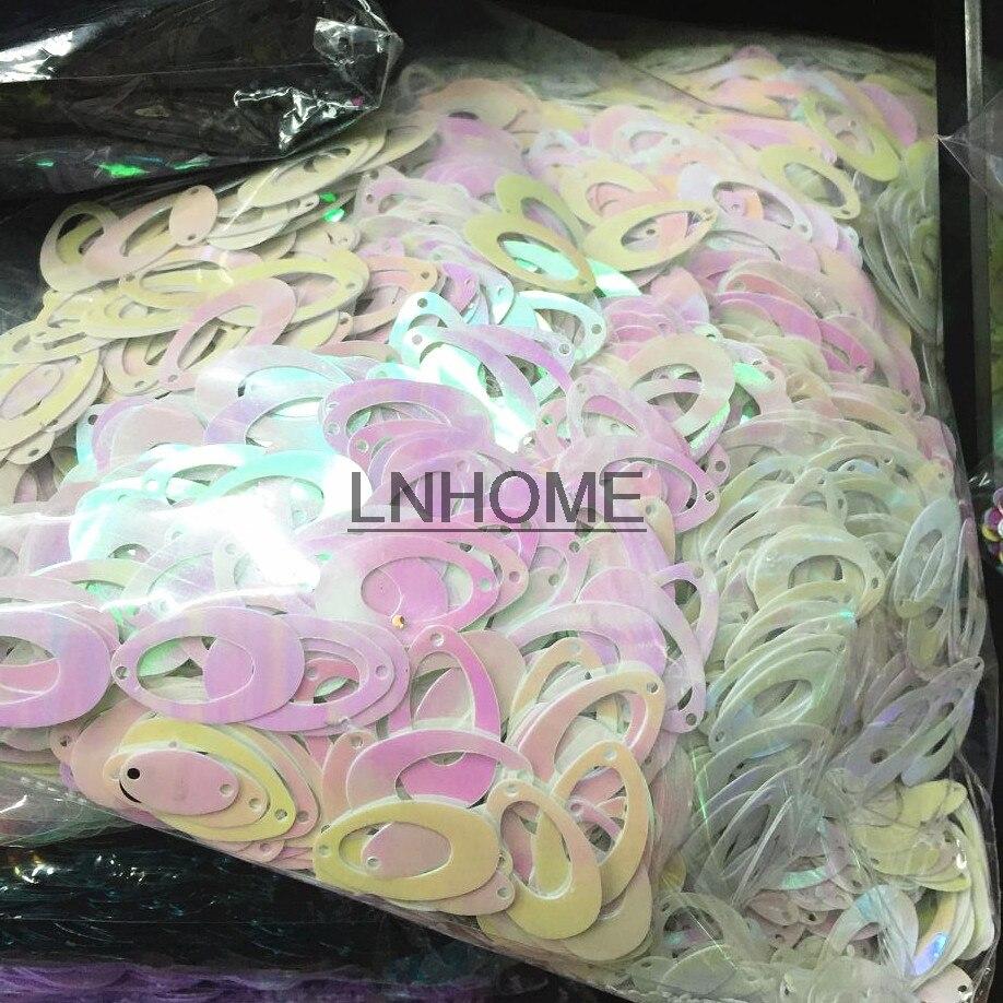 1 PCs Best Quality Sequins by Stephanie paillettes 3-30mm transparent sequin flat round cup pvc loose sequins paillette diy craft sewing women garment accessories 20g