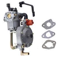 Carburetor Carb With Gift Gasket For Gasoline Generator LPG NG Dual Fuel Hybrid 2KW 2 5KW