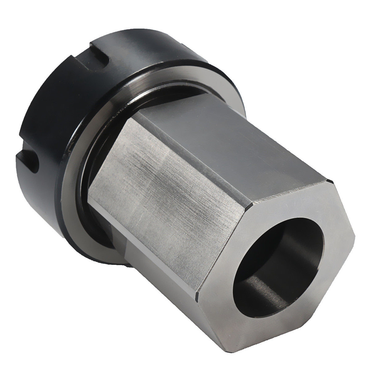 Square Hex ER40 Collet Block 80mm Collet Chuck Block Holder For Lathe Engraving Machine 1pc square er40 collet chuck block holder 3900 5125 for cnc lathe engraving machine cross hole drilling
