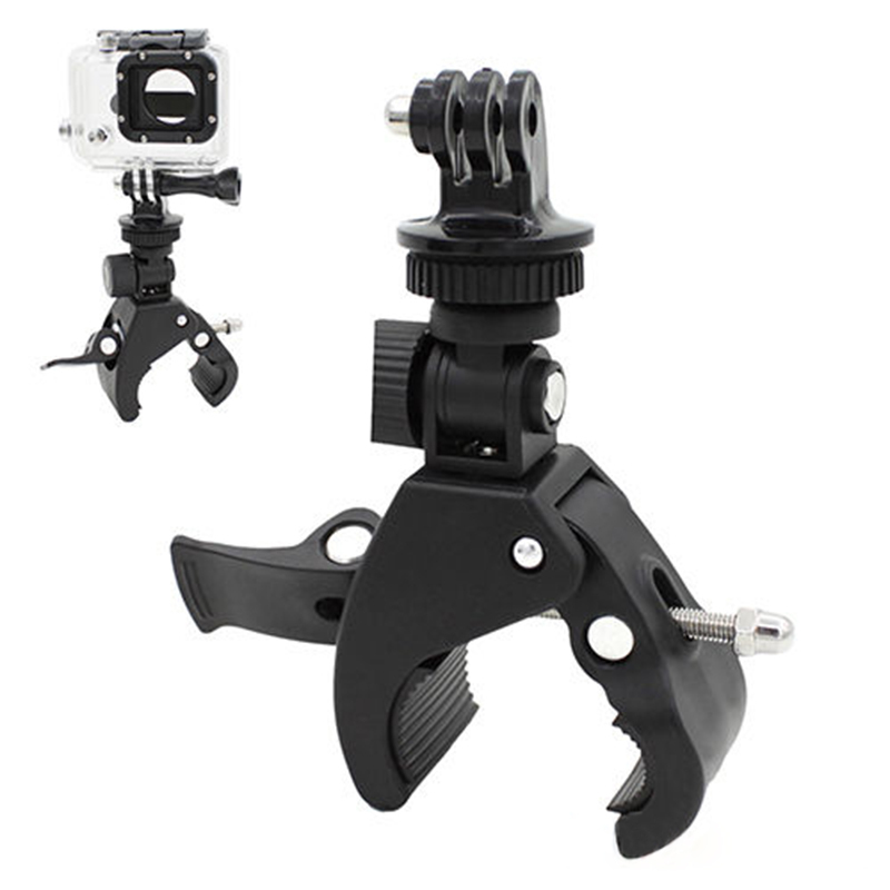 Gopro Roll Bar Mount >> Us 1 97 19 Off New Reusable Handlebar Clamp Roll Bar Mount Tripod Adapter For Gopro Hero 1 2 3 3 In Tripods From Consumer Electronics On