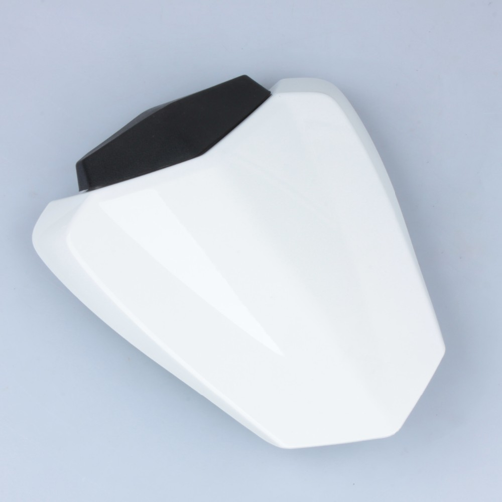 Motorbike Seat Cowl White Motorcycle Pillion Rear Seat Cowl Cover For Yamaha YZF R1 2009 2010 2011 2012 2013 2014 for yamaha yzfr6 yzf r6 2006 2007 2008 2009 2010 2011 2012 2013 2014 motorcycle engine stator cover chrome left side