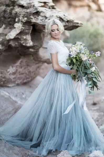 US $132.05 5% OFF|Fairy Beach Boho Lace Wedding