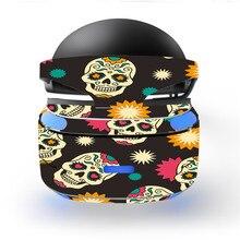 Vintage Skull Design Decal PSVR Skin Sticker for Sony Playstation PS VR Headset