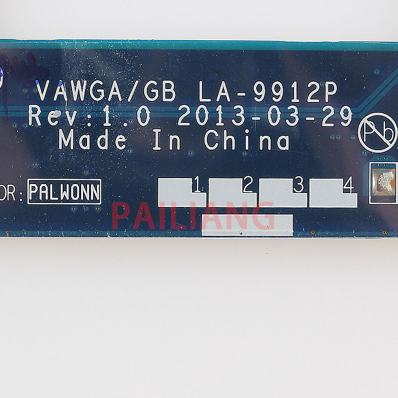 Pailiang Laptop Motherboard For Lenovo G505 E1 6010 Pc Mainboard 90003020 Vawga Gb La 9912p Full Tesed Ddr3 Aliexpress