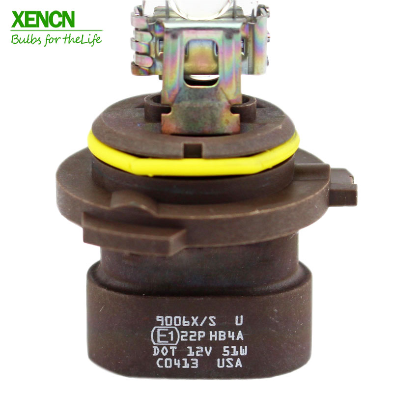 XENCN HB4A 9006XS 12V 51W 2300K Golden Eyes Super Yellow Light Visibility Plus Bulb Headlight Halogen For Jeep Chrysler Cadillac In Car Fog Lamp From