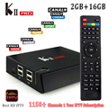 1 Год Арабский IPTV Box КИИ PRO 1150 + Каналы Smart Android TV коробка S905 Amlogic Quad Core 2 Г/16 Г Wi-Fi H.265 HEVC 4 К Smart TV коробка