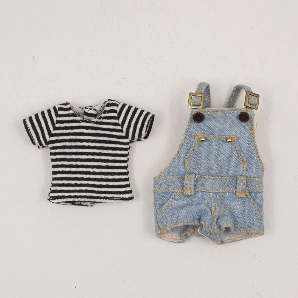 Neo Blythe Doll T-Shirt with Bib Suit 1