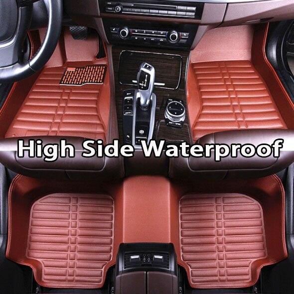 SOLEGGIATO VOLPE tappetini Auto per Infiniti EX25 FX35/45/50 G35/37 JX35 5D Impermeabile auto-styling di cuoio Anti-slip tappeto fodereSOLEGGIATO VOLPE tappetini Auto per Infiniti EX25 FX35/45/50 G35/37 JX35 5D Impermeabile auto-styling di cuoio Anti-slip tappeto fodere