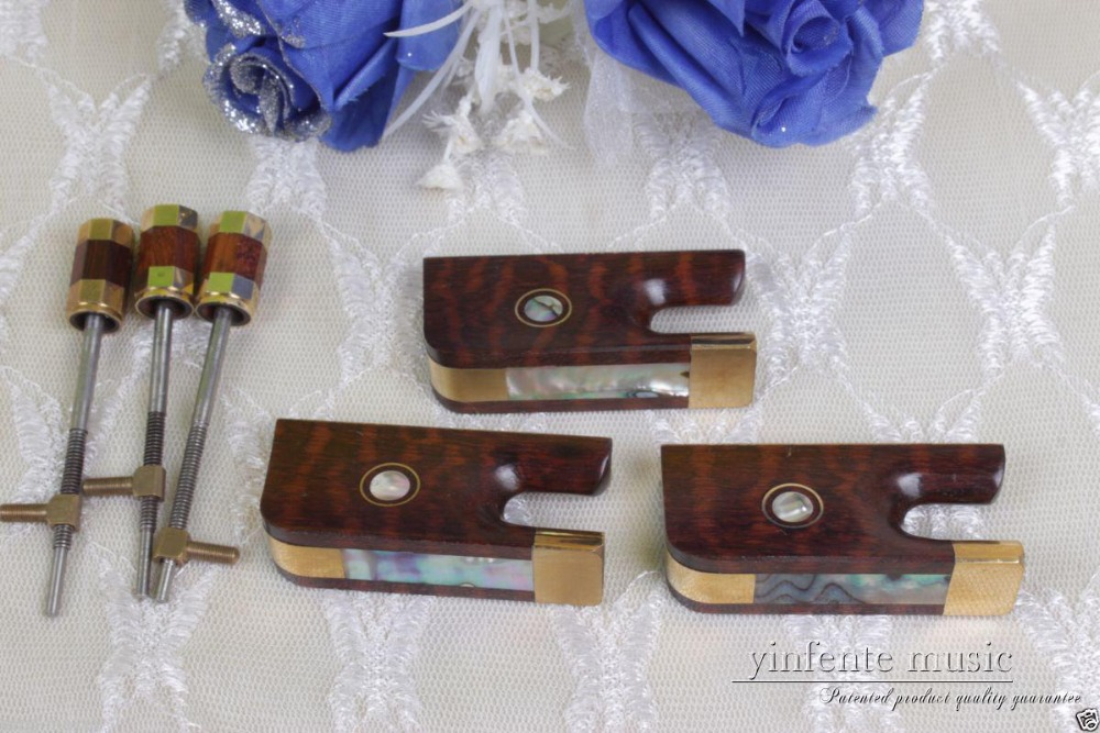 3 set 4/4 cello  bow  part  snakewood  fr og,bow top parts  cello parts 5 set 4 4 violin bow part snakewood fr og bow top parts violin parts