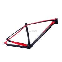 29er MTB bike carbon frame BB92 UD surface derailleur carbon bike frame