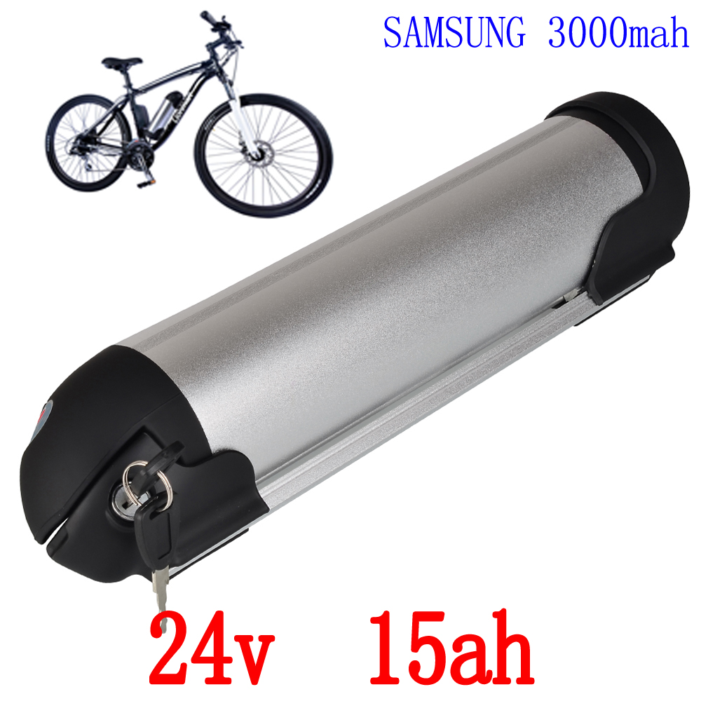 24V 350W Electric Bike battery 24V 15AH lithium battery Use ICR-18650 3000mah cell with 29.4V 2A charger and  15A BMS 30a 3s polymer lithium battery cell charger protection board pcb 18650 li ion lithium battery charging module 12 8 16v
