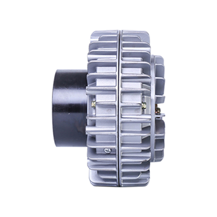 Forceful 12n.m Magnetic Powder Clutch Fashionable Patterns flange Input/hollow Shaft Output/hollow Shaft Install/rotational Shell