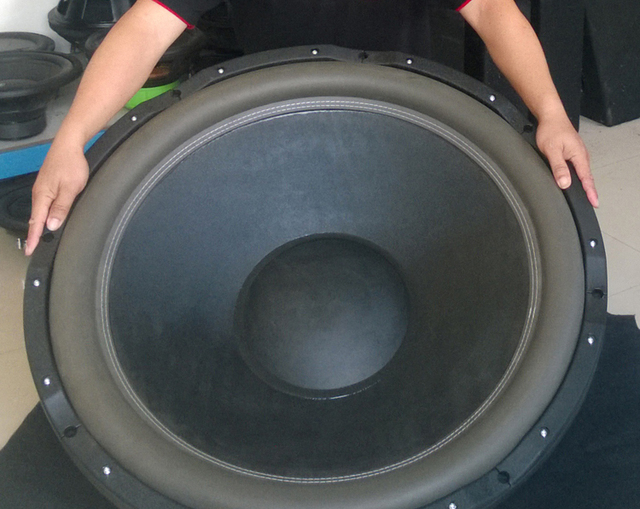33'' 33 inch Super heavy Subwoofer Bass Speaker Unit Loudspeaker HIFI Speaker Paper basin coin 16Ohm Combined aluminum bracket