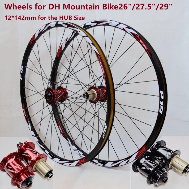 Downhill Mountain Bike26 27 5 29 Wheels DH MTB Aluminium Alloy Wheelset 26 27 5 29er