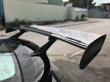 Acessórios do carro De Fibra De Carbono Spoiler Traseiro Para Veloster Lordpower Wide Body Kit Carro Estilo Do Carro