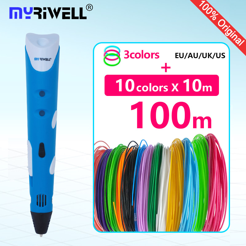 myriwell 3d pen 3d pens abs 1.75mm pla filament 3d printed pen 3 d pen 2017 Smart Child birthday present graffiti pen-3d model myriwell 3d pens 20 10m abs filament 3 d pen 2017 smart 3d printed pen best gift for kids 3d print pen 3d model 1 75mm pla