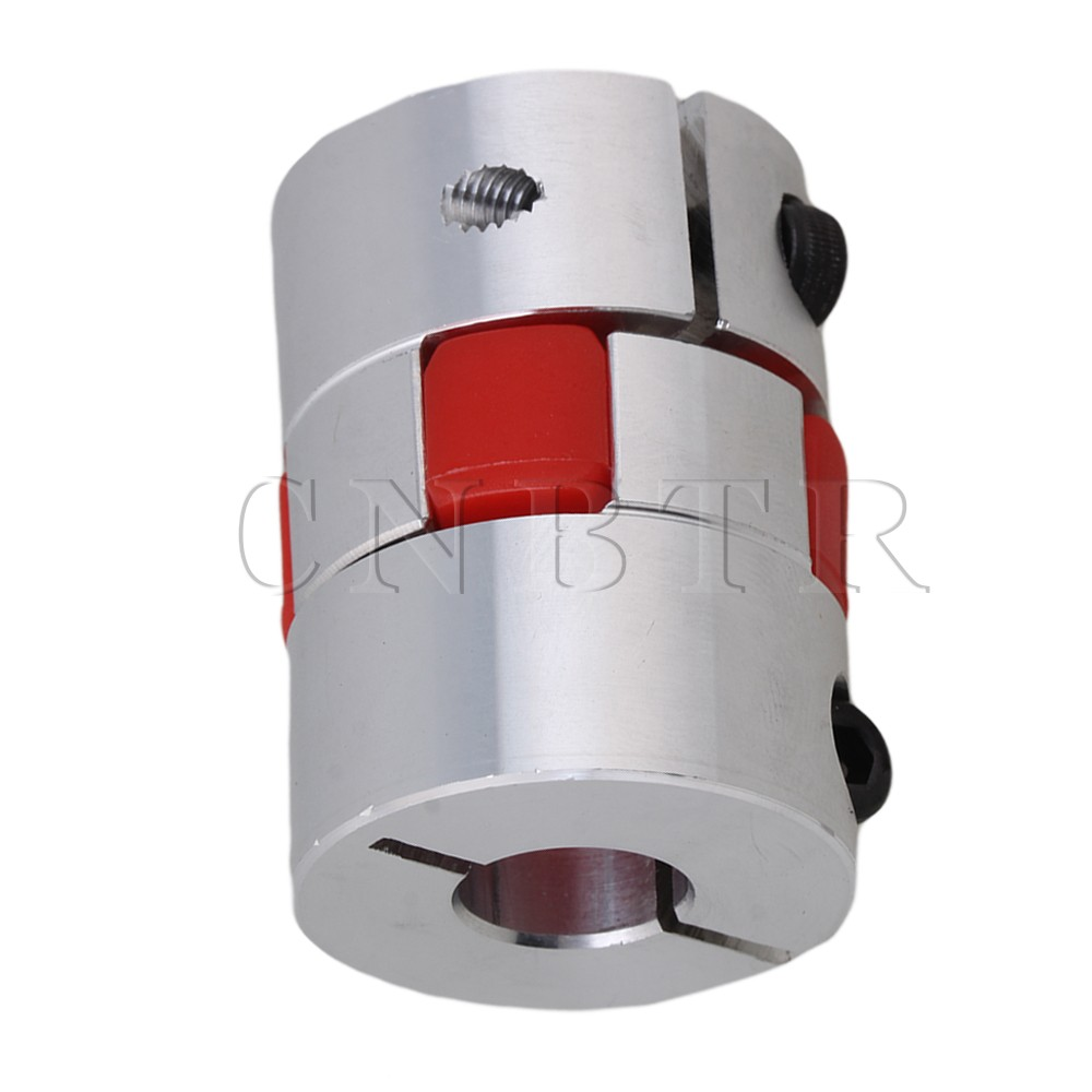 CNBTR 12 x 14 mm CNC Flexible Plum Coupling Shaft Coupler 30mm Diameter Finish Maching