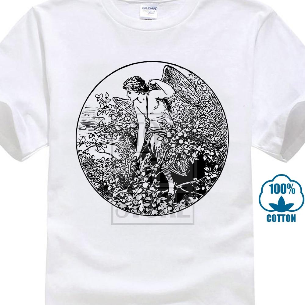 Cheap Graphic T Shirts Short Sleeve O Neck Eros T Shirt Greek Mythology Ancient Greece Graphic Tee Men Tees
