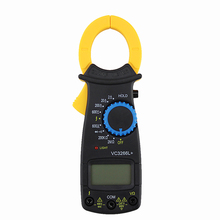 купить 2019 Electronic Digital Clamp Multimeter AC DC Volt Voltage Amp Ohm Tester Meter Tester Tools дешево