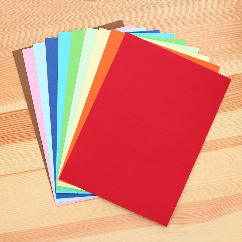 Deli color cardboard children handmade paper origami paper cut 10pcs ...