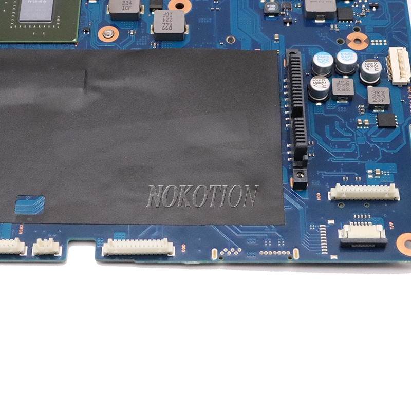 Image 4 - Nokotion BA92 09944A BA92 09944B For Samsung NP550P7C 17.3 inch Laptop motherboard NVIDIA GeForce GT 650M and Intel GMA HD 4000Motherboards   -