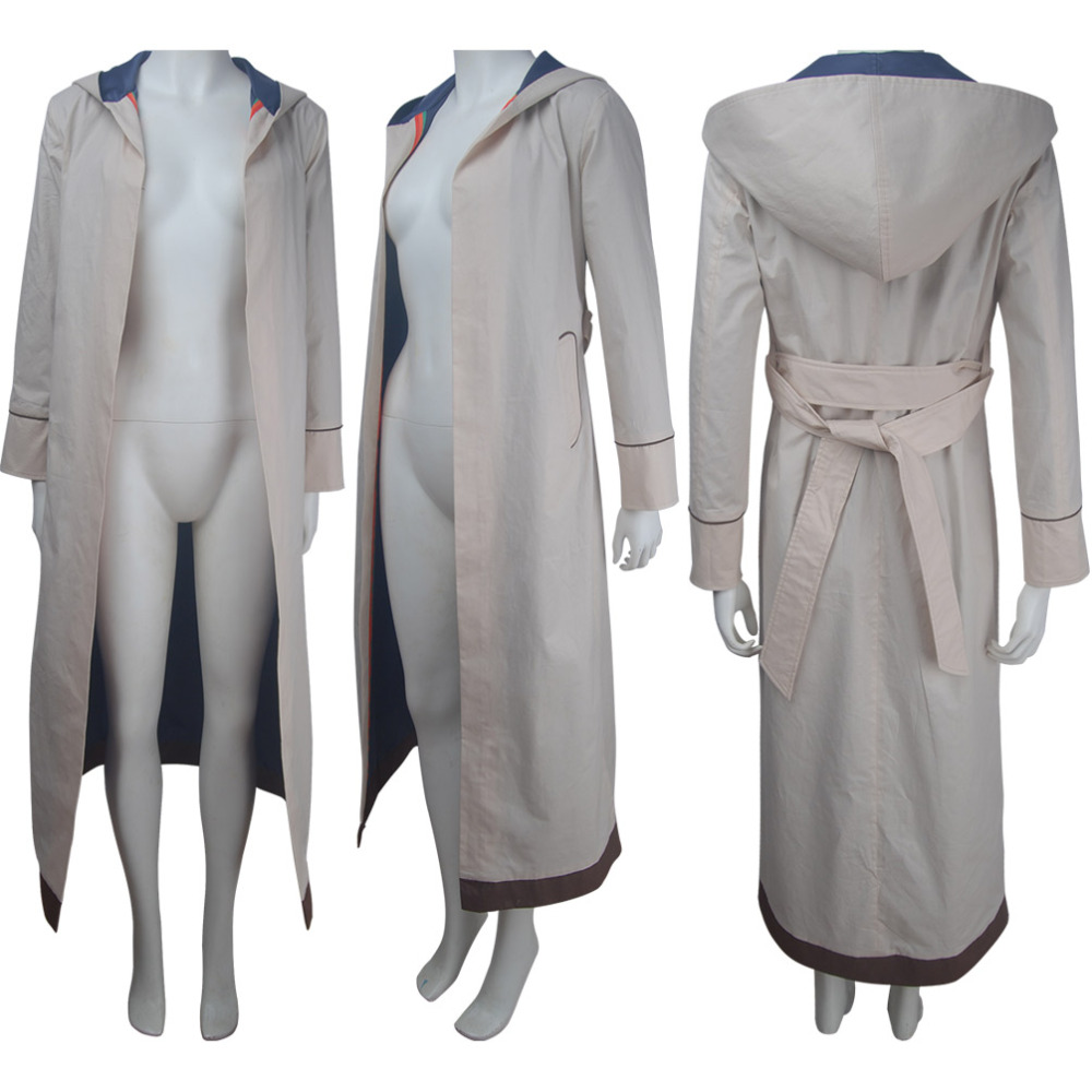 13th Doctor cosplay female Doctor jacket outfit coat Halloween costume X'mas Christmas birthday Valentine's day gift