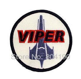 Battlestar Galactica Colonial Viper Pilot Uniform Patch 3 INCHES