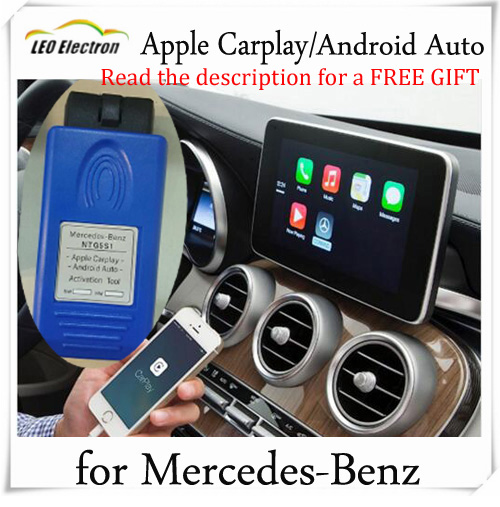 US $74 25 |Apple Carplay for Mercedes Android unlimited use NTG5 S1  activation tool started in 10 seconds Update by star diagnosis XENTRY on