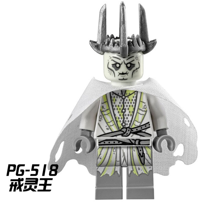 PG518 Witch-king Lord of the Rings Building Blocks Toys Kid Gift PG8036 son of a witch
