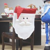 Christmas Decoration For Home Santa Claus Chair Cover Christmas Decorations Party Dinner Table Seats Cover Home
