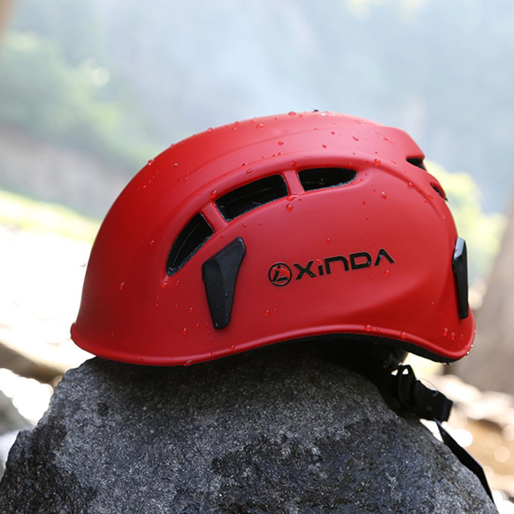 Safety Helmet For Climbing Equipment Outdoor Downhill Helmet Outreach Activities Caving Rescue Mountaineering River Tracing bicycle helmet