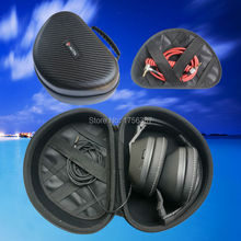 V-MOTA TDI headphone suitcase Carry case boxs For SKULLCANDY Aviator Yankees With Mic3 and Crusher S6SCGY-398 headset