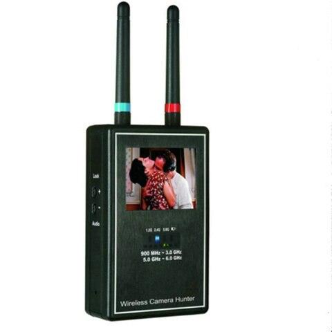 Banda completa 1,2 GHz-2,4 GHz-5,8 GHz cámara inalámbrica Hunter/barredora de cámara inalámbrica/Detector de cámara oculta envío gratis