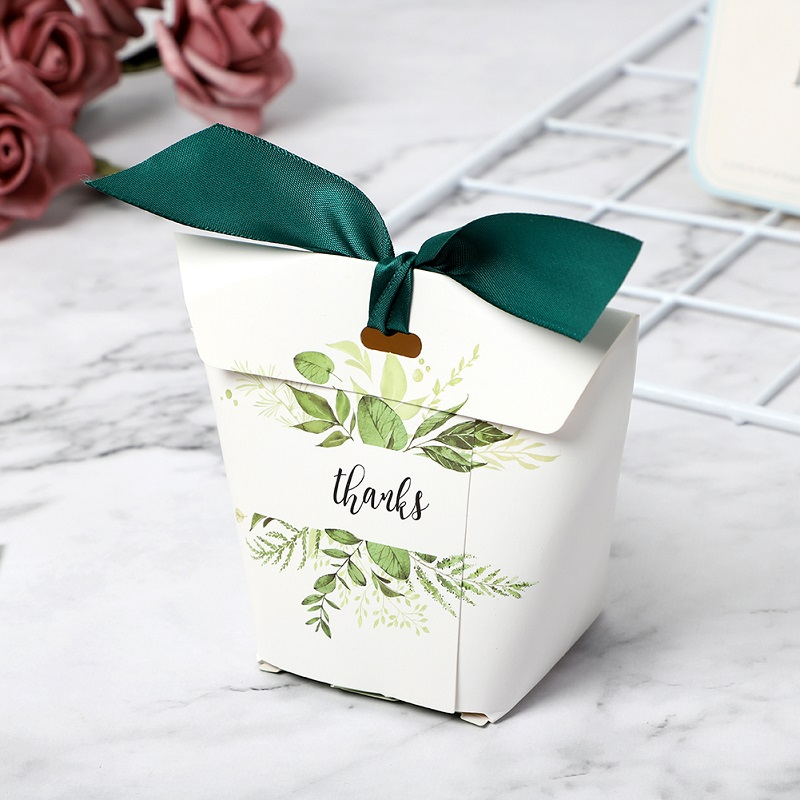 Wedding Favors Gift Box Ribbon Paperboard Candy Boxes Package Birthday Party Favor Bags Wedding Sweet Supplies Gift Boxes in Gift Bags Wrapping Supplies from Home Garden