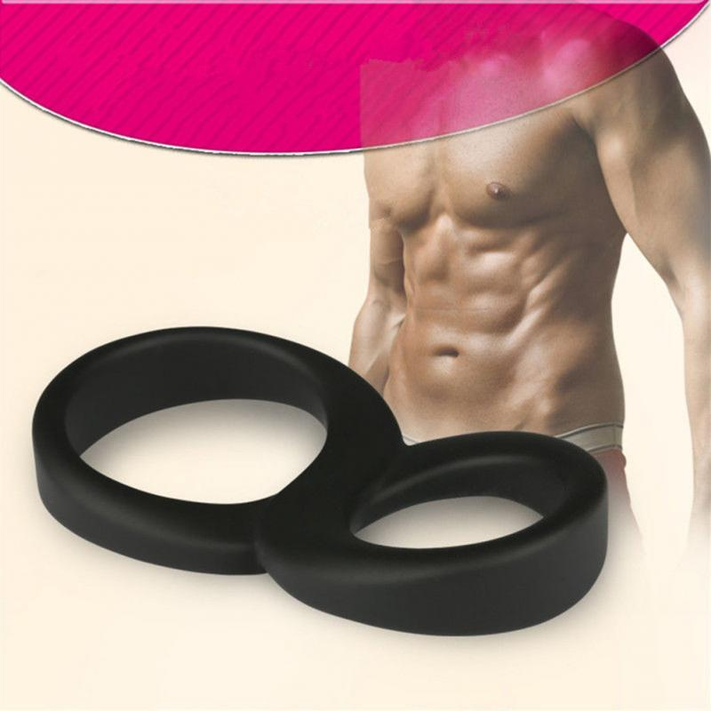 For Man Male <font><b>Penis</b></font> Enhancing Stretchy Silicone Ring Cock Rings Delay Ejaculation <font><b>Penis</b></font> Rings <font><b>Adult</b></font> <font><b>Sex</b></font> <font><b>Toys</b></font> <font><b>Sex</b></font> Product image