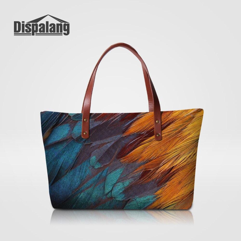 Dispalang الشهيرة ماركة أزياء الفراء نمط المرأة حقائب السيدات حقيبة الحيوان الطباعة الفتيات الكتف حقيبة حمل أكياس سعة كبيرة