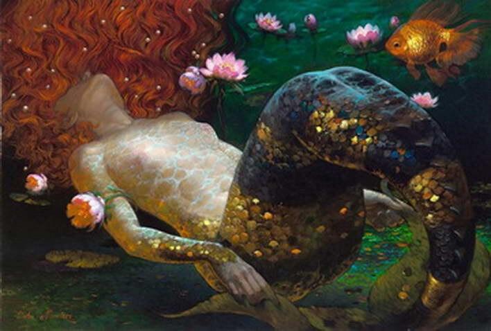 Moderní umění Victor Nizovtsev Plátno Obrazy olejomalba Dětský pokoj Vánoční dekorace Zeď Obrázek nejlepší vánoční dárek vk24