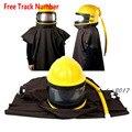 Protección en el trabajo de aire alimentado suministrado seguridad chorro casco arena industria explosión abrasivo capucha Protector