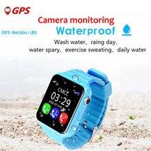 Children Baby GPS Smart Watch For Kids Safe SIM Wifi Touch Screen SOS Call Location Tracker Waterproof Relogio Menino Clock F26