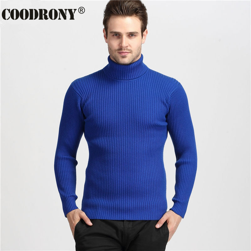 Мужской свитер 2016 100% Slim Fit