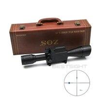 ZOS 6X42 Военная Униформа тактический прицел 30 мм трубки измерить расстояние Охота видеодатчик