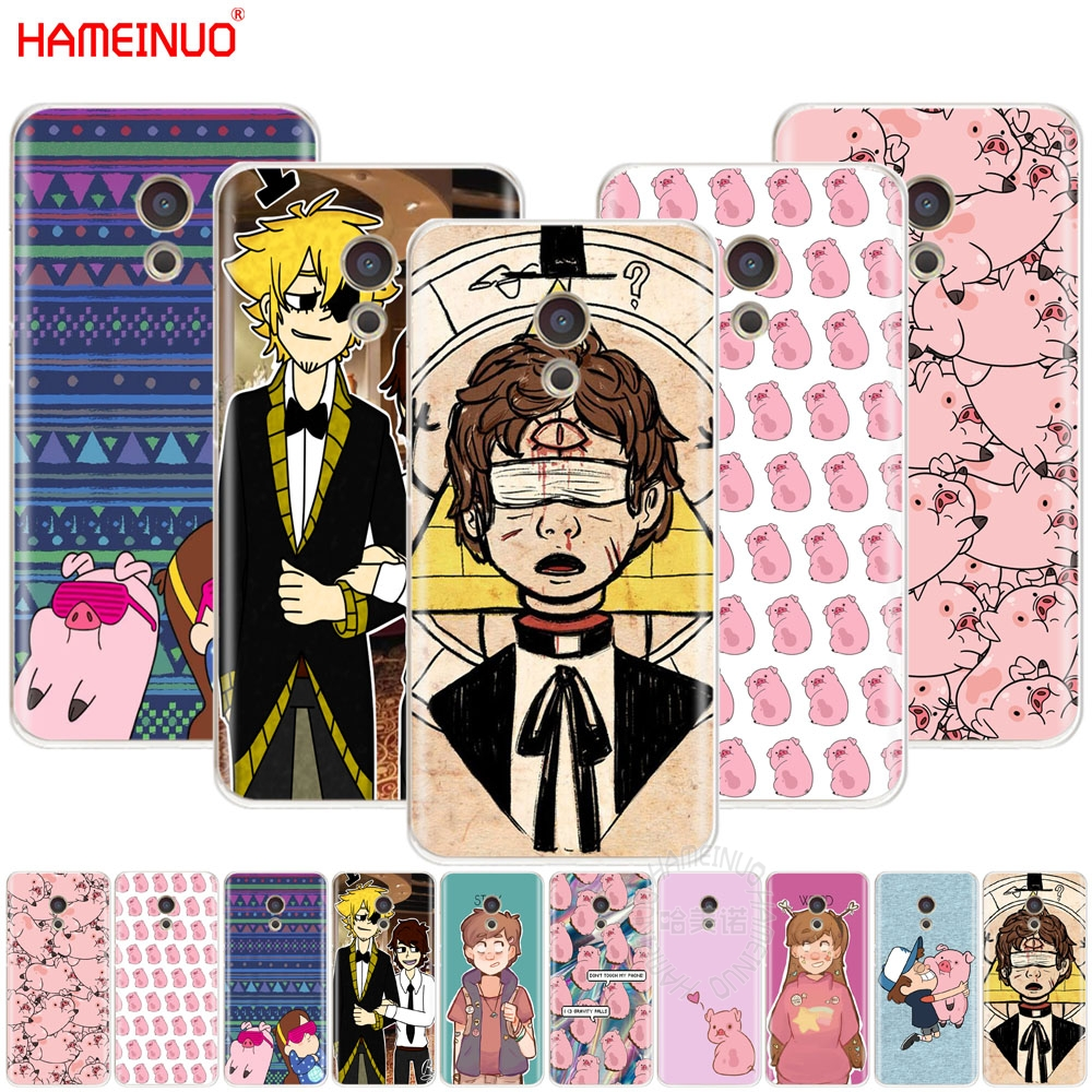 HAMEINUO bipper pato gravity falls anime Cover phone Case for Meizu M6 M5 M5S M2 M3 M3S MX4 MX5 MX6 PRO 6 5 U10 U20 note plus ...