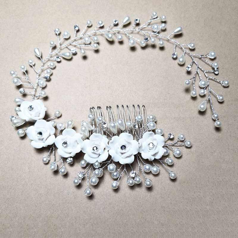 19 estilos de moda de la cabeza de la novia de cristal corona Tiaras diadema de oro claro de la boda de la novia accesorios de la joyería del pelo regalo