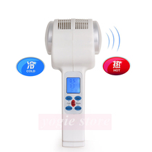 Ultrasonic Cryotherapy Hot Cold Hammer Facial Massager Face Lifting Ultrasound Body Face Lift Tool Home Salon Beauty Equipment