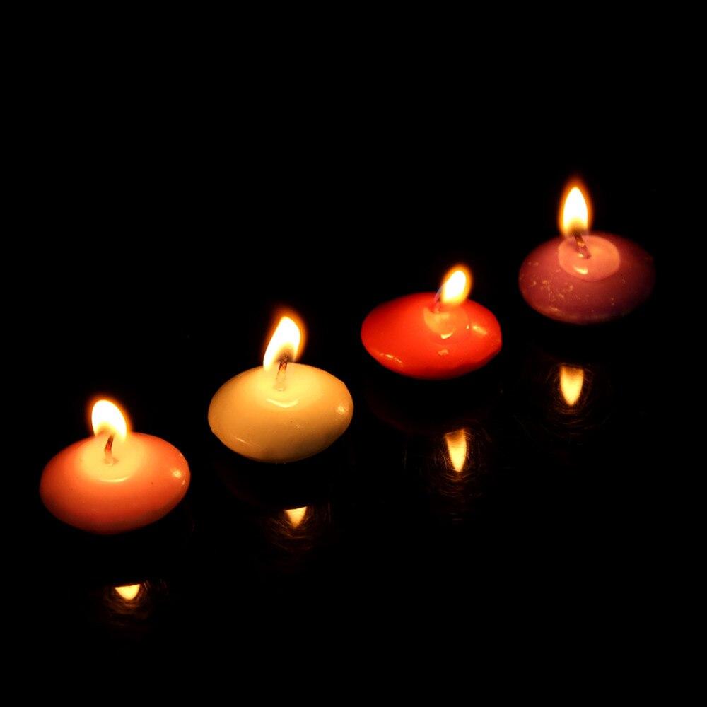 w pcs sem fumaa velas flutuantes velas de casamento romntico valentine decorao do partido