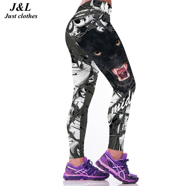22 Colors Classic European America Style 3D Print Women Sporting Leggings Sexy Fitness Pants Female Workout Clothes Ropa Mujer